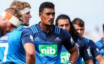 Blues captain Jerome Kaino will play his first Super Rugby match this year next week