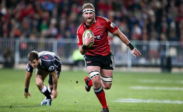 Kieran Read captain the Crusaders