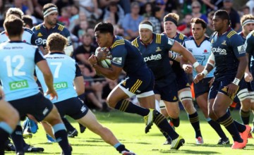 Malakai Fekitoa scored a hat trick of tries