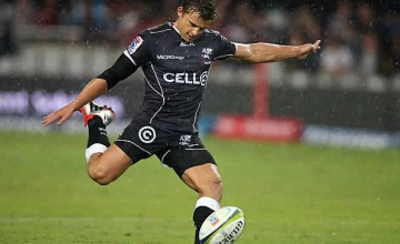 Pat Lambie has returned to training with the Sharks