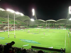 Melbourne Rebels home stadium AAMI Park