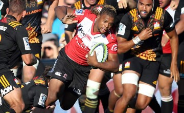 Howard Mnisi is part of a new Lions centre pairing