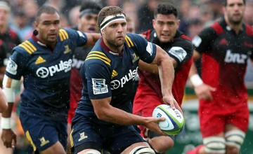 Luke Whitelock will make his Super Rugby debut for the Highlanders