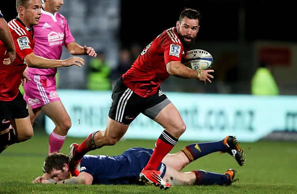 Ryan Crotty will play Super rugby for the Crusaders this weekend