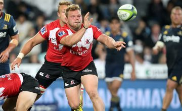 Armand van der Merwe starts at hooker for the Lions