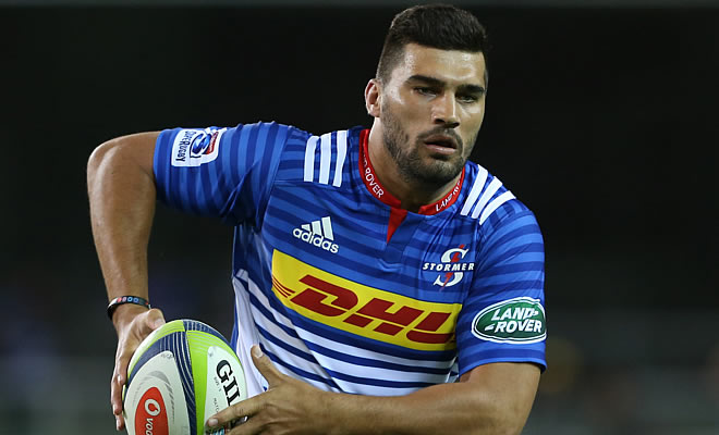 Damian de Allende made his return to the Stormers team last weekend