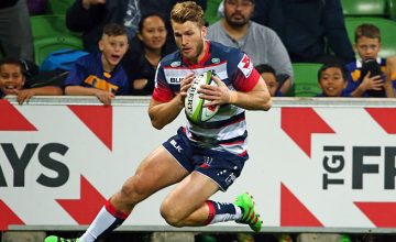 Dom Shipperley will continue to Super Rugby for the Rebels