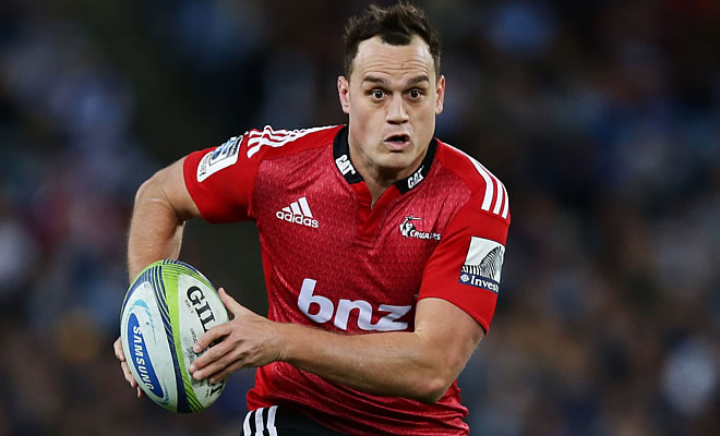Israel Dagg will play against the Jaguares