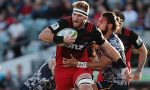Kieran Read captains the Crusaders
