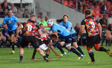 Lappies Labuschagne on the charge for the Bulls