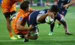 Lopeti Timani scored the opening try for the Rebels