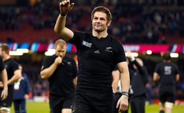 Richie McCaw has backed Joe Schmidt to coach the All Blacks