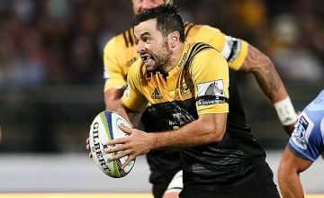 James Marshall starts at fullback for the Hurricanes