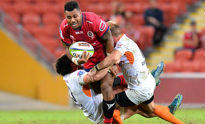 Samu Kerevi will miss up to four weeks