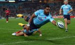 Taqele Naiyaravoro has rejoined the Waratahs