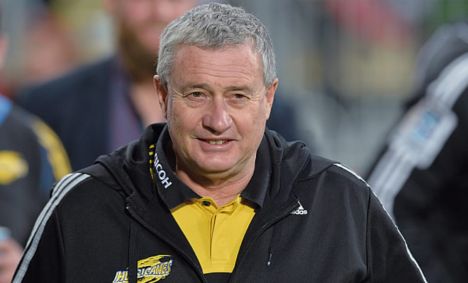 Hurricanes Super Rugby head coach Chris Boyd