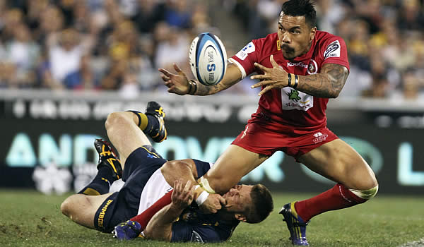 Digby Ioane has signed with the Crusaders