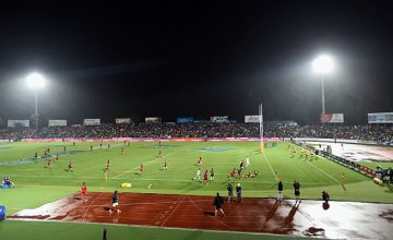 The Chiefs played the Crusaders in Fiji