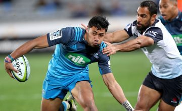 Melani Nanai on the attack for the Blues