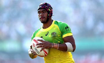 Pama Fou in action for Australian Sevens