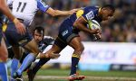 Tevita Kuridrani on the run for the Brumbies