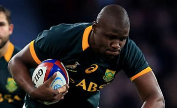 Oupa Mohoje has been issued with a warning for high tackles