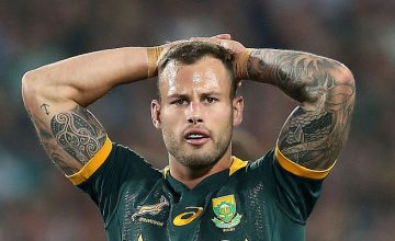 Francois Hougaard has been named in the Springbok starting line up