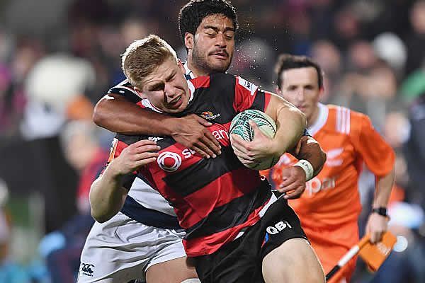 Jack Goodhue will play Super Rugby for the Crusaders until the end of 2019