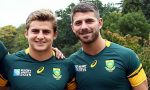 Patrick Lambie and Willie Le Roux are back in the Springbok squad