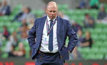 Melbourne Rebels head coach Tony McGahan