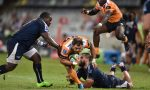 Niel Marais of the Cheetahs in action during the Super Rugby match