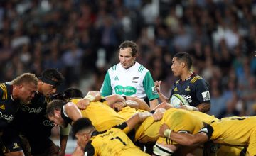 Super Rugby Referee Glen Jackson