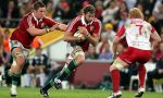 Former British and Irish Lion Geoff Parling starts for the Rebels