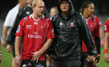 (R) Swys De Bruin has been appointed Lions Super Rugby coach