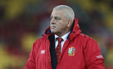 British & Irish Lions Head coach Warren Gatland