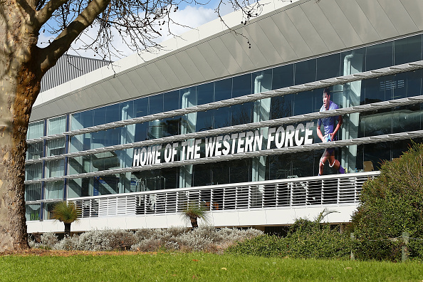 A general view of the outside of the Rugby WA Headquarters