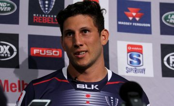 Adam Coleman will captain the Rebels this Super Rugby season