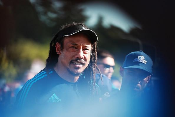 Blues Super Rugby head coach Tana Umaga