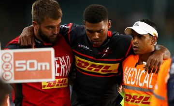 The Stormers could have to face the current Super Rugby champion Crusaders in Christchurch this weekend without flyhalf Damian Willemse
