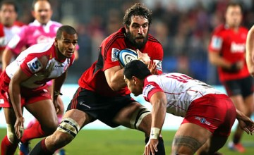 Sam Whitelock will captain the Crusaders this week