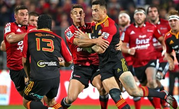 Sonny Bill-Williams and Dan Carter clash in last year's fixture