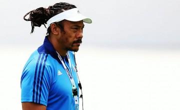 Blues head coach Tana Umaga