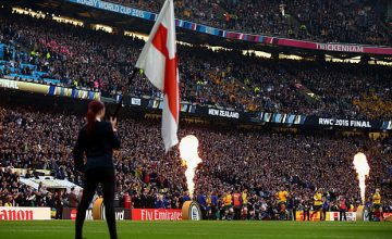 Australia and New Zealand played the World Cup final at Twickenham