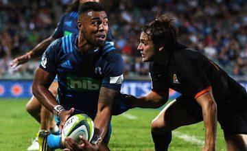Lolagi Visinia returns at fullback for the Blues