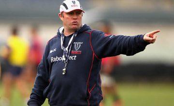 Rebels head coach Tony McGahan
