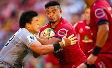 Loose forward Hendrik Tui is one of six Reds Super Rugby players Samoan heritage