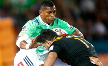 Waisake Naholo scored two tries for the Highlanders in their last meeting
