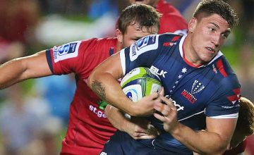 Sean McMahon will captain the Rebels for the rest of the season