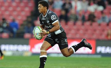 Garth April could be replaced late in the match by Patrick Lambie