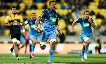 Jerome Kaino on the run last week against the Hurricanes